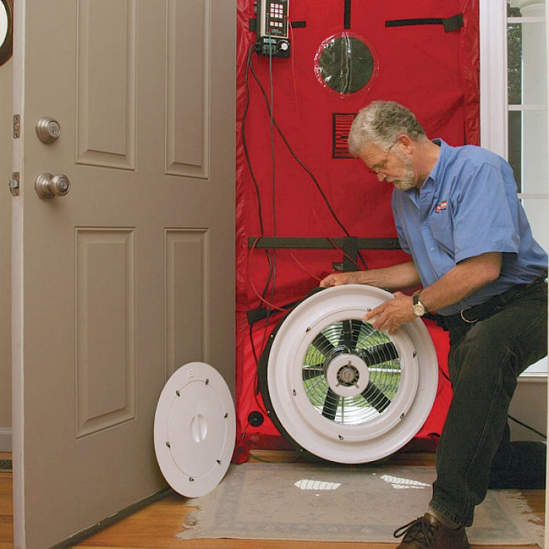 Home Energy Audits 101: Blower Door Test